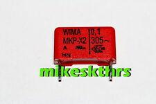 FK.41-1 5x WIMA MKP -X2 Entstörkondensator 0,1µF 305V~ 100nF Störschutzfilter uF