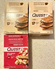 Quest Nutrition Bars, High Protein, Gluten Free, Various Flavors, Pack of 12