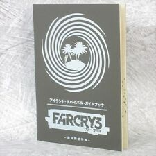 FARCRY 3 Far Cry Island Survival Game Guide Booklet Japan PS3 Book Ltd RARE