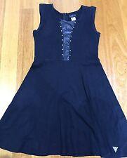 Guess Girls Size L (14) Black Dress