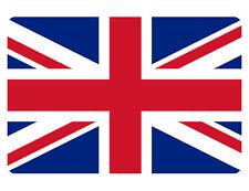 British Uk Flag Sign Custom Metal Sign Durable Aluminum No Rust Full Color F#520
