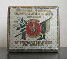 Rare old Advertising GOLD LION M.THOMASSIAN AND Co. Cigarette Tobacco Tin 1907