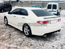 for Honda Acura TSX Accord 8 2009 2010 2011-2014 unpainted rear bumper diffuser