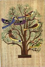 CPM EGYPTE Singing birds on a mimosa tree Mural painting from Beni H. (343489)