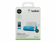 Belkin MIXIT ChargeSync Dock for iPhone 5 Blue F8J045BTBLU Device Not Included