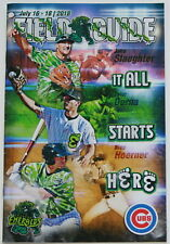 Eugene Emeralds Baseball Field Guide & Program July 2018 NW League Pro Ball Cubs