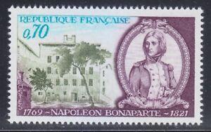 France 1969 MNH Sc 1255 Mi 1679 Napoleon Banaparte as Young Officer **