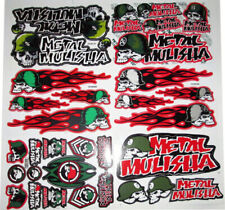 Metal Mulisha Motocross Decal Sticker Kit Set 6 Sheets MS-603