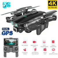 Mini Foldable Drone 2.4G/5G 4K HD GPS Follow WiFi RC Remote Quadcopter Aircraft
