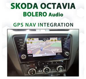 Skoda Octavia 2018 - current / GPS Navigation retrofit on Bolero Infotainment