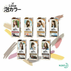 Kao Liese Creamy Bubble Color Hair Dyeing Japan Cosmetics Beauty Natural Series