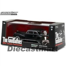 1941 LINCOLN CONTINENTAL BLACK THE GODFATHER MOVIE 1972 1:43 GREENLIGHT 86507