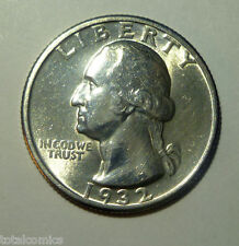 WASHINGTON QUARTER 1932  BU SHARP