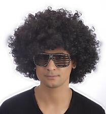 Halloween Jackson Five Unisex Mens Ladies Black Afro Wigs 5 Wigs Fancy Dress
