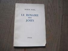 Marie NOEL: le rosaire des joies