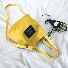Fashion Women Girl Canvas Shoulder Messenger Bag Student Handbag Shoulder Bag