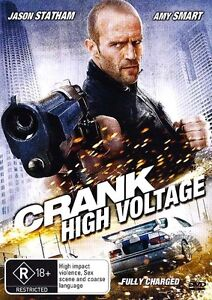 CRANK 2: HIGH VOLTAGE Fully Charged : NEW DVD