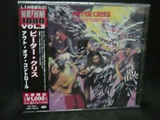 PETER CRISS Out Of Control JAPAN CD Kiss Chelsea U.S. Rock !