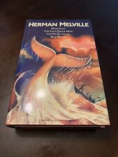 Vintage 1986 Herman Melville Four Complete Unabridged Novels Moby Dick Piazza