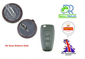 Panasonic VL2020 Rechargeable Battery Fits Ford Transit Custom Remote Key Fob