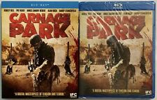 NEW CARNAGE PARK BLU RAY + RARE OOP SLIPCOVER SLEEVE SCREAM FACTORY BUY IT NOW