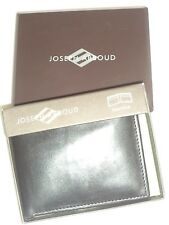 Joseph Abboud Thinfold Genuine Leather Wallet, Black