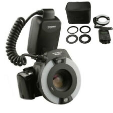 YONGNUO YN14EX TTL Macro Ring Flash LED Flash Light with Adapter Ring for Canon