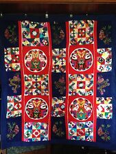 Chinese 3D Frog & Bug Quilt
