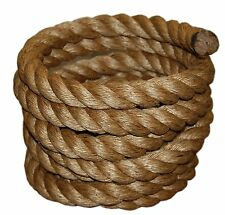 Exercise Climbing Rope Fitness Gym Tug Of War Battling 50 Ft 1-1/2 inch Manila