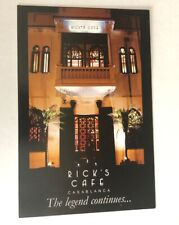 Rick's Cafe Casablanca Postcard