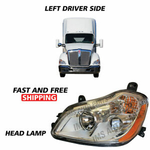 Kenworth T680 Projector Head Light Assembly For Left Driver Side Year 2010-2019