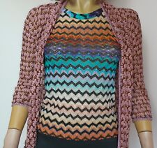 Missoni Orange Label Open Front Cardigan with Top (2 piece set)