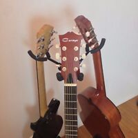 Two (x2) Haze GS029 3-Way Guitar / Instrument Stands - Collapsible