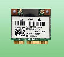 Killer Wireless-N1202 Model AR5B22   802.11a/b/g/n 0CTJ7G Bluetooth 4.0