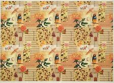 Rice Paper for Decoupage Decopatch Scrapbook Craft Sheet Flowers Bird Collage 2
