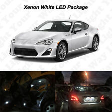 6 x White LED Interior Bulbs + Reverse + Tag Lights For 2013-2016 Scion FR-S