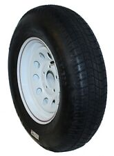 "Carrier Star: 205/75D14 Trailer Tire & Wheel Assembly 6 Ply 5 Lug 4 1/2"" Pattern"