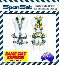 Spanset 1800 Ergo Ropeworks Full Body Fall Arrest Safety Harness Rope Access