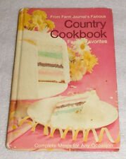 Farm Journal 1971 Famous Country Cookbook Family Favorites Complete Meals HC