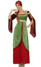 Déguisement Femme Dame Médiévale M/L 40/42 Costume Adulte Moyen Age film