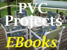 200+ PVC Projects and Plans Fun Creations Plastic Pipe Crafts Furniture Patio