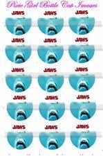 Jaws Movie 1970's Movie Shark Week 15 Precut Bottle cap Images