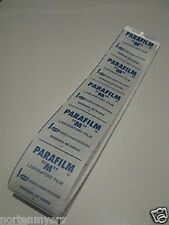 "Parafilm M Laboratory Film  4"" x 9' Nursery Tape Grafting / Labs"