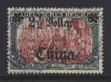 Germany Offices in China 56 $2 1/2 on 5m watermarked 1908 Shanghai cancel