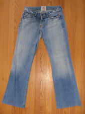 ** PEOPLES LIBERATION ** Faded Distressed Destroyed Monacco Boot Jeans 27 x 31