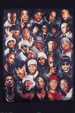 #1108 Rap Legends Poster 24X36