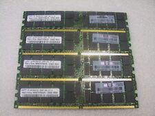 8GB 4X2GB Samsung DDR2 PC2-5300P ECC REG SERVER RAM M393T5750CZA 405476-051