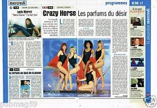 Coupure de Presse Clipping 1999 (2 pages) Le Crazy Horse