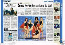 Coupure de Presse Clipping 1999 (2 pages) Le Crazy Horse