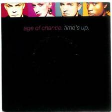 """Age Of Chance - Time's Up - 7"""" Vinyl Record"""